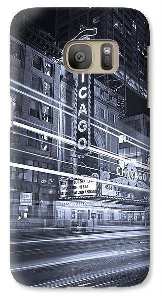 Chicago Theater Marquee B And W Galaxy S7 Case