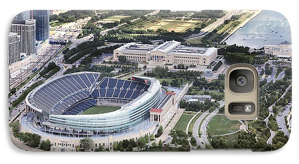 Soldier Field Galaxy S7 Case - Chicago's Soldier Field by Adam Romanowicz