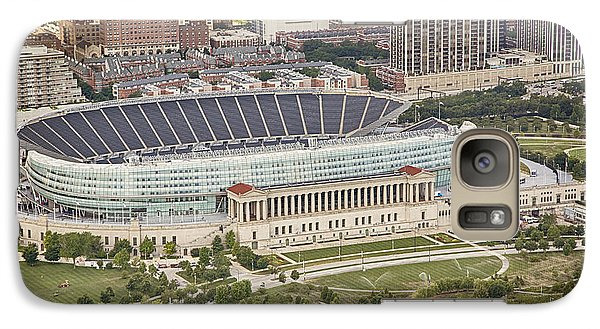 Soldier Field Galaxy S7 Case - Chicago's Soldier Field Aerial by Adam Romanowicz