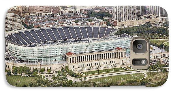 Chicago's Soldier Field Aerial Galaxy S7 Case