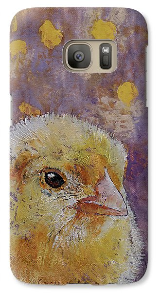 Chick Galaxy S7 Case by Michael Creese