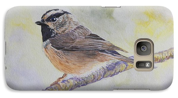 Galaxy Case featuring the painting Chickadee 2 by Robert Decker