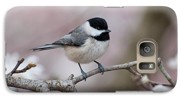 Galaxy Case featuring the photograph Chickadee - D010026 by Daniel Dempster
