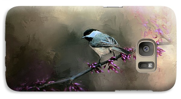 Chickadee In The Light Galaxy S7 Case