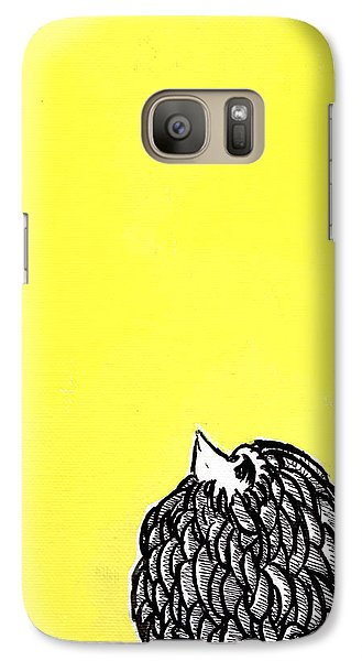 Galaxy Case featuring the painting Chickens Four by Jason Tricktop Matthews