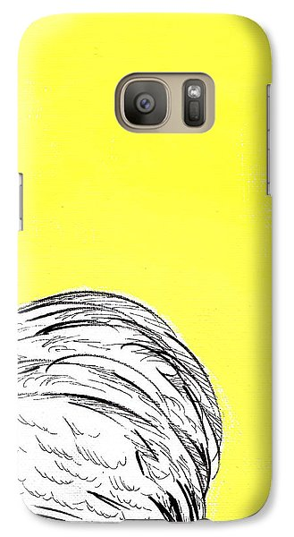 Galaxy Case featuring the painting Chickens Two by Jason Tricktop Matthews