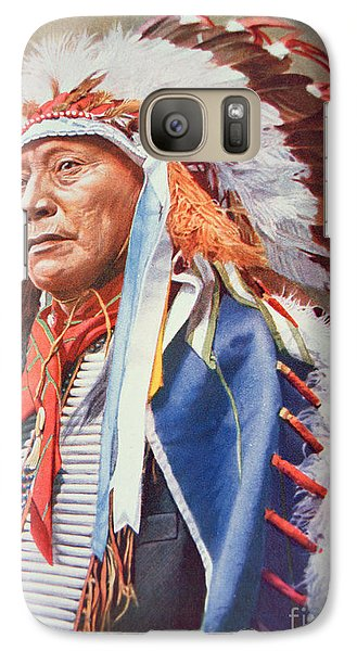 Portraits Galaxy S7 Case - Chief Hollow Horn Bear by American School