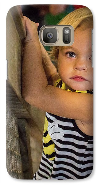 Galaxy S7 Case featuring the photograph Child In The Light by Bill Pevlor