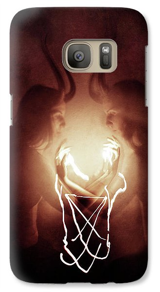 Magician Galaxy S7 Case - Children Of Fire by Cambion Art