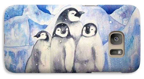 Galaxy Case featuring the painting Chill Out by Martha Ayotte