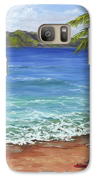 Galaxy Case featuring the painting Chillaxing Maui Style by Darice Machel McGuire