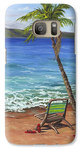 Chillaxing Maui Style Galaxy S7 Case