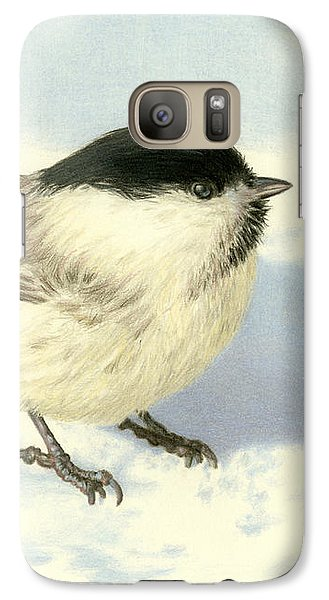Chilly Chickadee Galaxy S7 Case