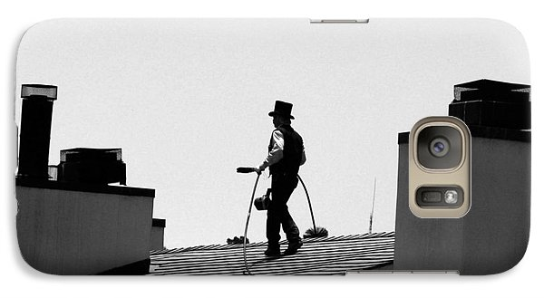 Galaxy Case featuring the photograph Chimney Sweep by Helen Haw