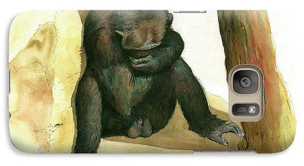 Chimp Galaxy Case by Juan Bosco