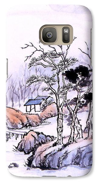 Galaxy Case featuring the painting Chinese Landscape by Yolanda Koh