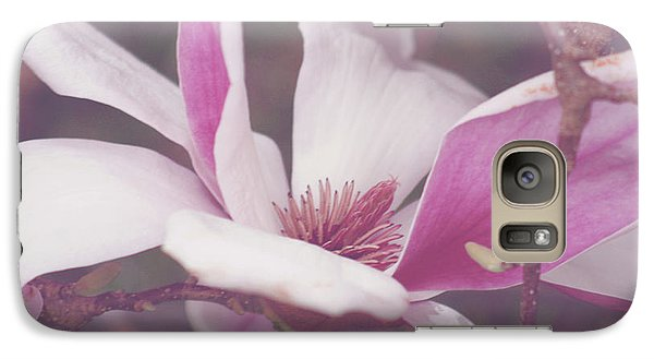 Galaxy Case featuring the photograph Chinese Magnolia Bloom by Toni Hopper