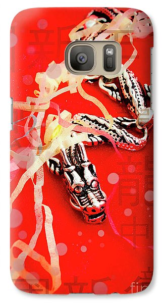 Dragon Galaxy S7 Case - Chinese New Year Background by Jorgo Photography - Wall Art Gallery