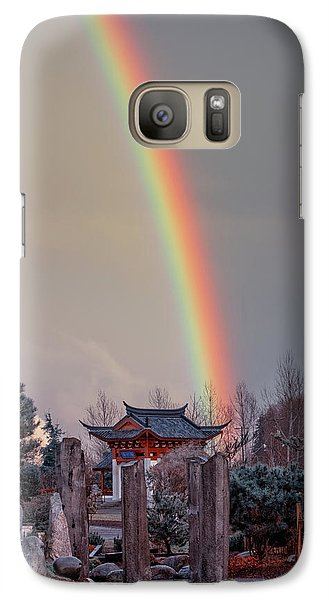 Chinese Reconciliation Park Rainbow Galaxy S7 Case