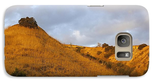 Galaxy Case featuring the photograph Chino Hills And Clouds by Viktor Savchenko