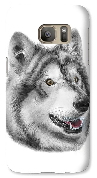 Galaxy Case featuring the drawing Chinook by Peter Piatt