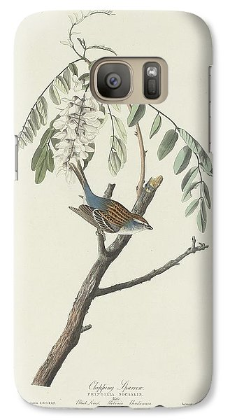 Chipping Sparrow Galaxy S7 Case