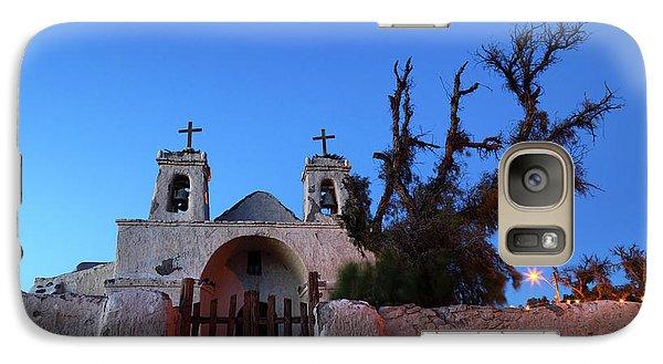 Chiu Chiu Church At Twilight Chile Galaxy Case by James Brunker