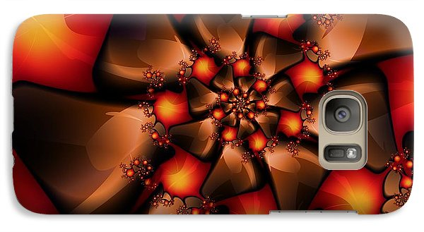 Galaxy Case featuring the digital art Chocolate Berry Burst by Michelle H