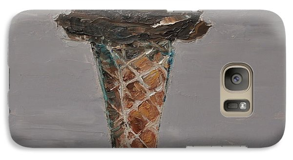Galaxy Case featuring the painting Chocolate Cone by Lindsay Frost