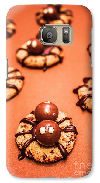 Chocolate Peanut Butter Spider Cookies Galaxy S7 Case
