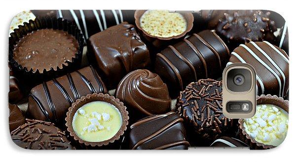 Galaxy Case featuring the photograph Chocolates by Vivian Krug Cotton