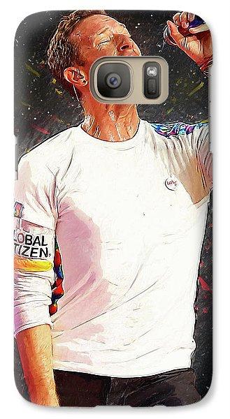 Chris Martin - Coldplay Galaxy S7 Case