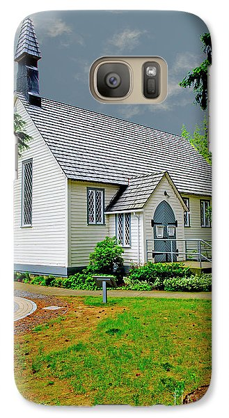 Galaxy Case featuring the photograph Christ Church by Rod Wiens