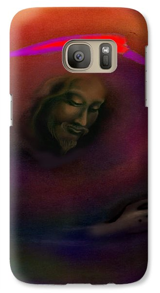 Galaxy Case featuring the painting Christ by Kevin Middleton