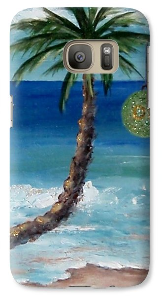 Galaxy Case featuring the painting Christmas 2008 by Jamie Frier