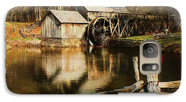Galaxy Case featuring the photograph Christmas At The Mill by Darren Fisher