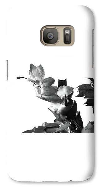 Galaxy Case featuring the photograph Christmas Cactus by Ed Cilley