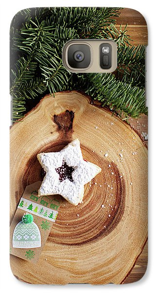 Galaxy Case featuring the photograph Christmas Cookies by Rebecca Cozart