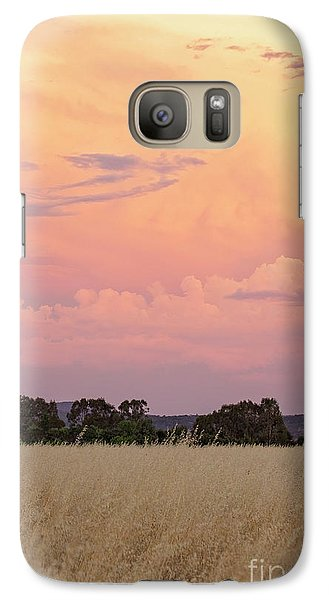 Galaxy Case featuring the photograph Christmas Eve In Australia by Linda Lees