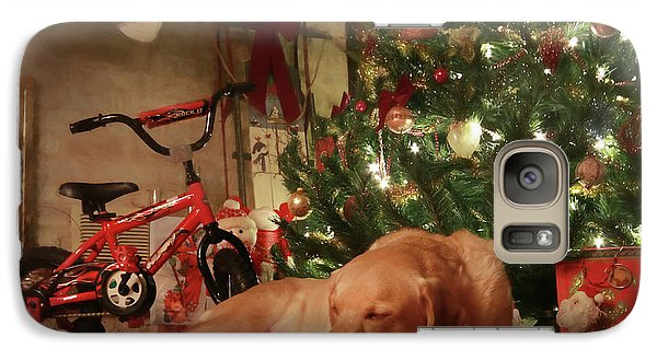 Galaxy Case featuring the photograph Christmas Eve by Lori Deiter