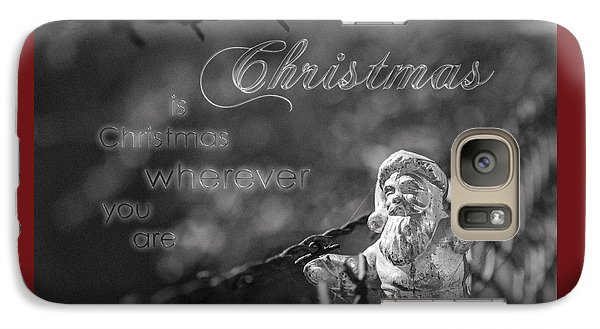 Galaxy Case featuring the photograph Christmas Everywhere by Caitlyn Grasso