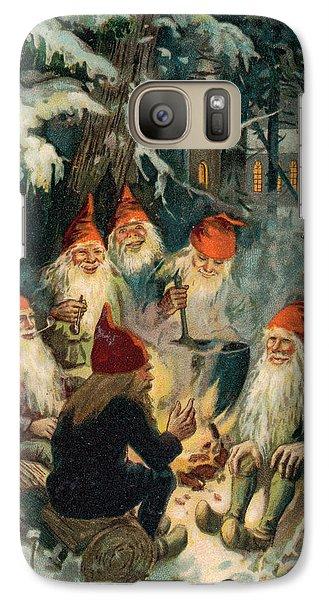 Elf Galaxy S7 Case - Christmas Gnomes by English School