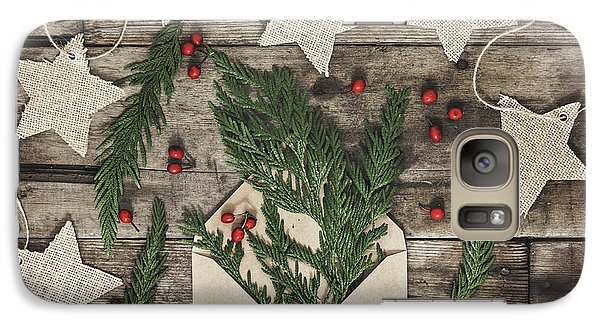 Galaxy Case featuring the photograph Christmas Greens by Kim Hojnacki