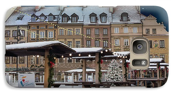 Galaxy Case featuring the photograph Christmas In Warsaw by Juli Scalzi
