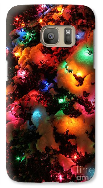 Christmas Lights Coldplay Galaxy S7 Case