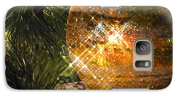 Galaxy Case featuring the photograph Christmas Magic by Diane Merkle