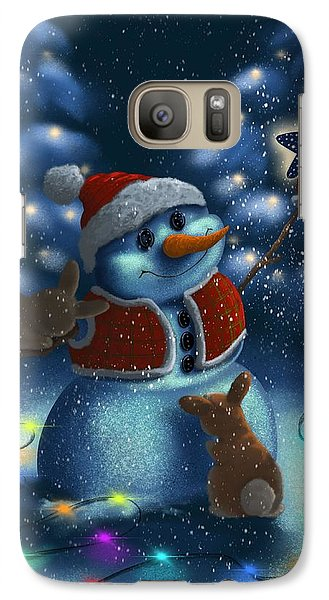 Galaxy Case featuring the painting Christmas Season by Veronica Minozzi