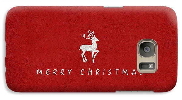 Christmas Series Christmas Deer Galaxy S7 Case