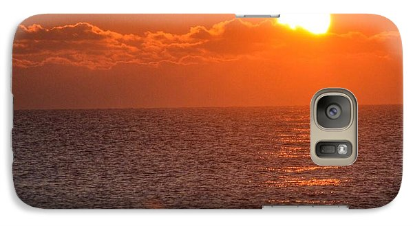 Galaxy Case featuring the photograph Christmas Sunrise On The Atlantic Ocean by Sumoflam Photography