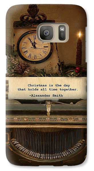 Galaxy Case featuring the photograph Christmas Time by Robin-Lee Vieira